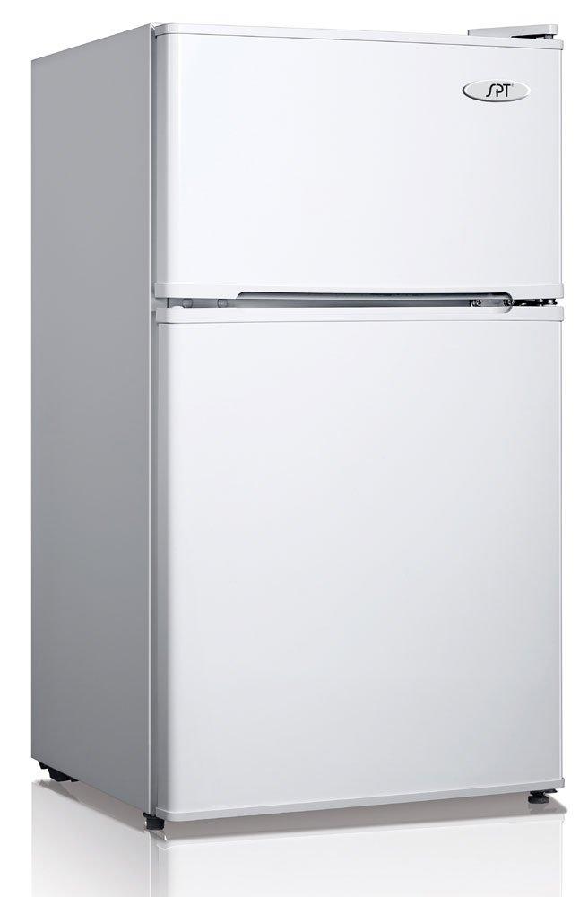 Rf 354w 3 5 Cu Ft Double Door Refrigerator In White