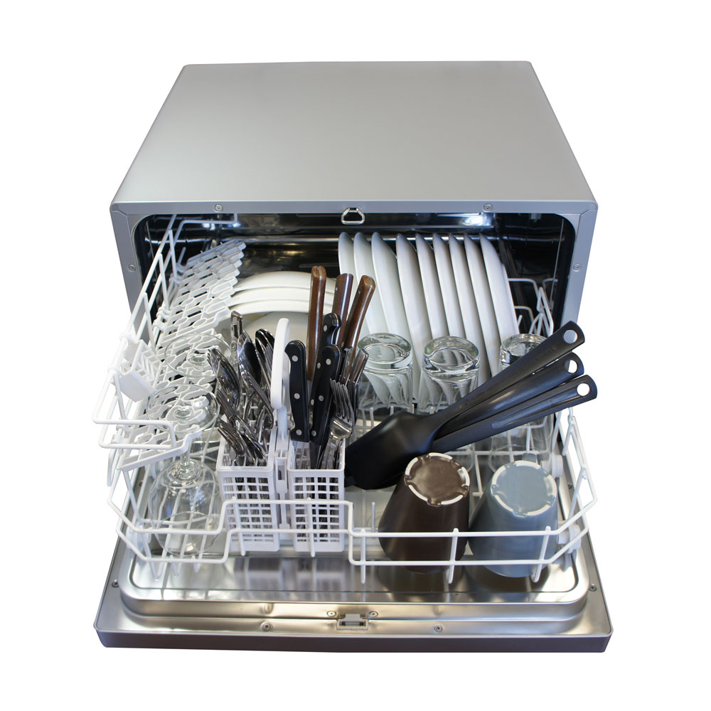 Sd 2201s Countertop Dishwasher Silver Sunpentown Com
