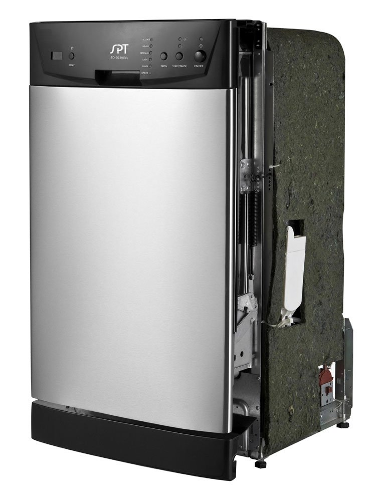SPT SD-9252SS Energy Star 18 Built-In Dishwasher Stainless Steel